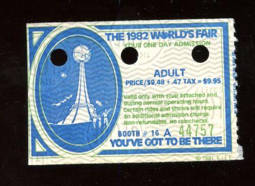 Vintage Knoxville TN 1982 World