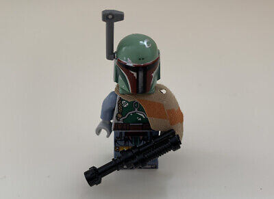 Genuine Lego Star Wars Boba Fett Minifigure (sw0711) Mint Figure