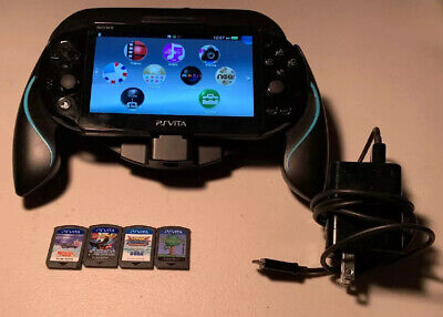 Sony PS Vita Slim Black PCH2001 with 4 Games And Extras