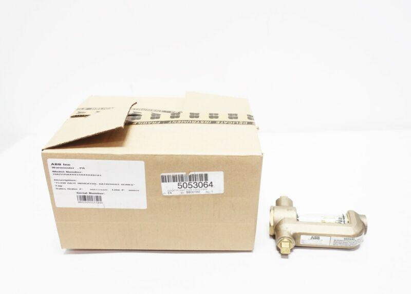 Abb 10A2235AXXX31HXXXXBTA1 Bronze 1/2in Npt Flow Indicator