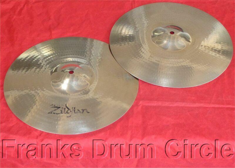 "Zildjian A Custom 14"" Hi-Hat Cymbals (hihat/high)"