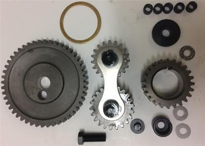 (Oldsmobile 400 425 455 Dual Idler QUIET Timing Gear Drive Set Kit)