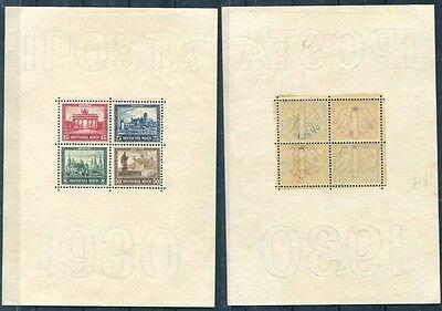 Germania/Germany Reich 1930 BF 1 Iposta block MHN
