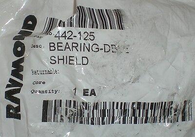 Raymond Genuine Original Oem 442-125 Bulk Ball Double Shield Forklift Bearing