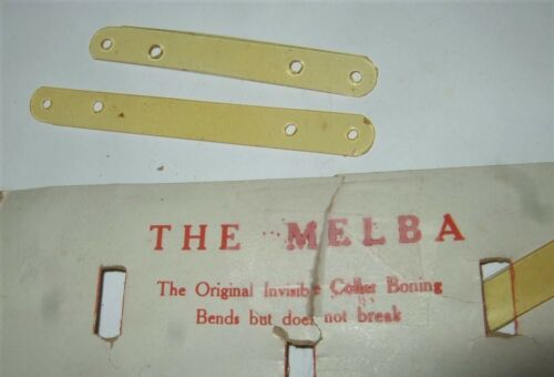 Collar Stays Antique Celluloid The Melba
