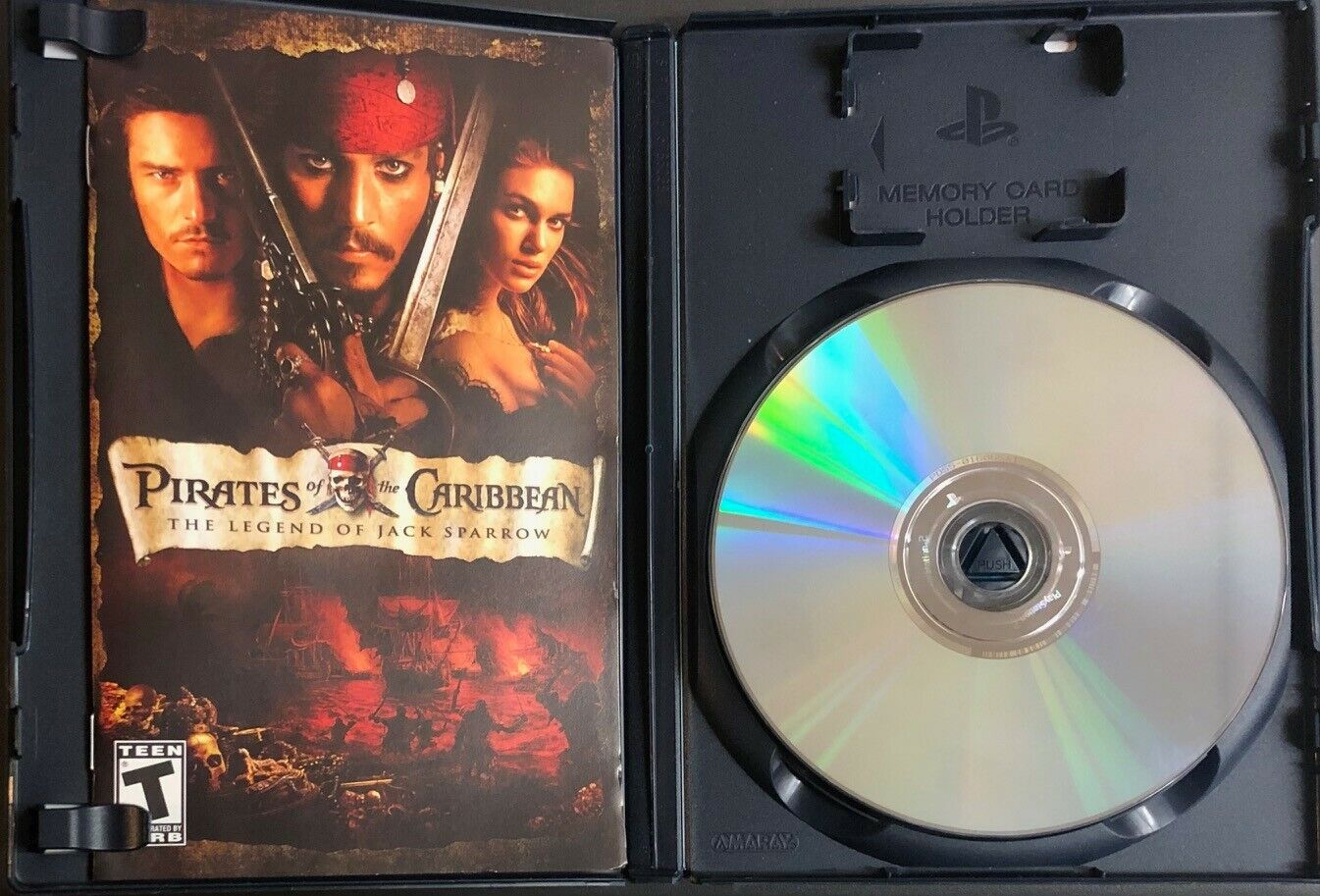 Pirates Of The Caribbean The Legend Of Jack Sparrow - PS2 Greatest Hits - $7.95