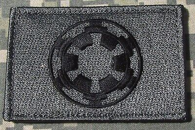 STAR WARS IMPERIAL GALACTIC EMPIRE TACTICAL MORALE ACU DARK VELCRO PATCH