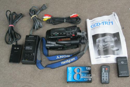 SONY CCD-TR71 Video8 HANDYCAM CAMCORDER RECORDER VIDEO TRANSFER