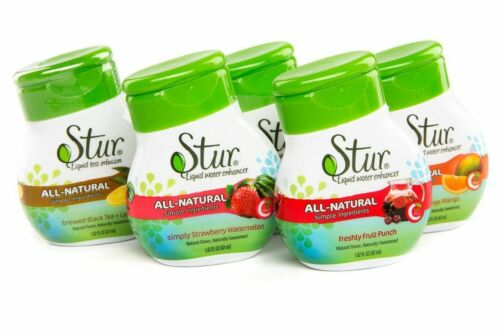 Stur - Multiple Flavors, Pack of 5, Water Enhancer, Sugar Free, Zero Calories