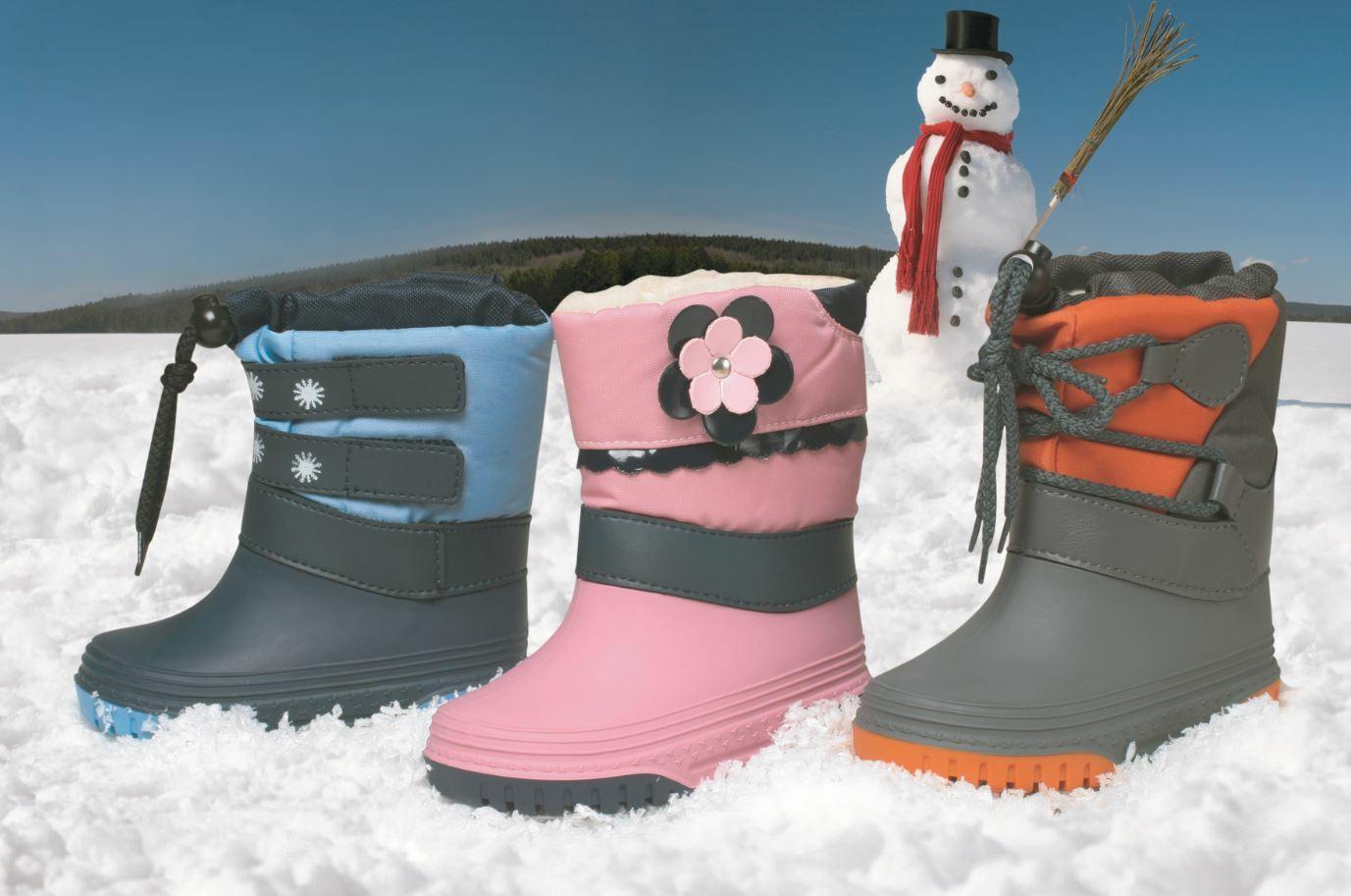 Kleinkinder Schneestiefel Gr. 21-28 Winter Stiefel Boots Snowboots Schnee Schuhe