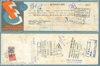 65235 - Italia Regno - Storia Postale : Marca Da Bollo Su Cambiale 1934 Banking -  - ebay.it