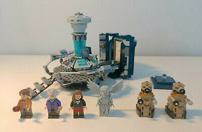 LEGO 21304: Doctor Who (LEGO Ideas #11) - Doctors 11 & 12, Weeping Angel, Daleks