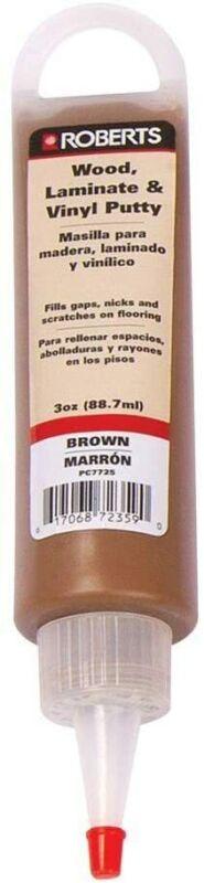Roberts 3 oz. Brown Wood, Laminate and Vinyl Putty
