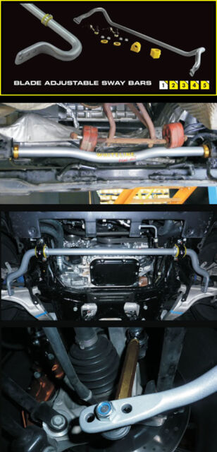 Whiteline Front Sway Bar 22mm HEAVY DUTY ADJUSTABLE SKYLINE R33 R34 GTR AWD