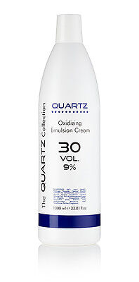 QUARTZ PEROXIDE OXYDANT CREME 9% 30 VOLUME 1 LITRE 1000ml AMAZING QUALITY✔  UK✔