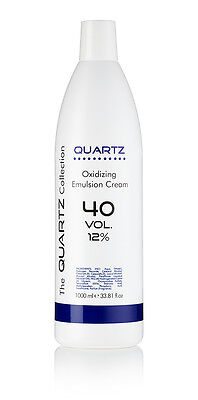 QUARTZ PEROXIDE OXYDANT CREME 12% 40 VOLUME 1 LITRE 1000ml AMAZING QUALITY ✔UK✔