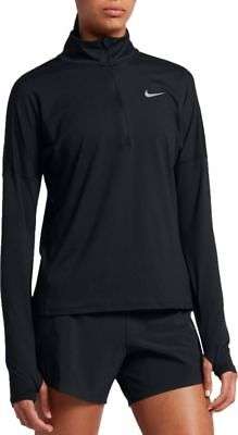 Nike Womens Dry Element Half Zip Long Sleeve Running Shirt AJ4660
