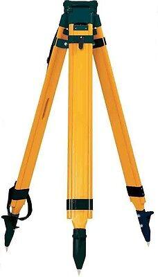 Wood Fiberglass Tripod - Sokkia Wood Fiberglass Tripod 724282 For Rotary Lasers Total Station or GPS