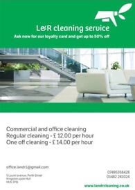 Commercial and office cleaning- regular and one off cleaning, carpet cleaning
