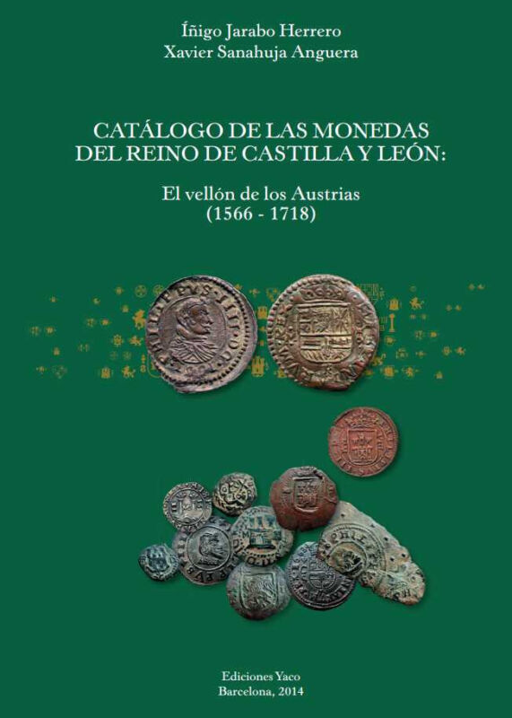 REFERENCE BOOK of SPANISH COINS 1566-1718   Copper Cobs & Milled   LOOK !!