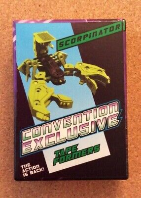 KFC Transformers Convention Exclusive Masterpiece Scorpinator Tape Formers 236