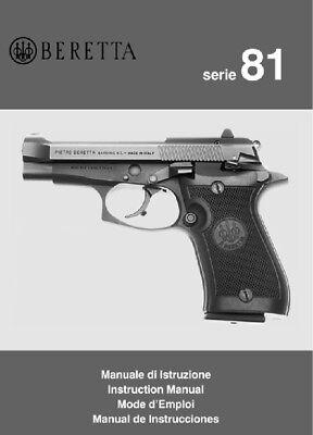 Manuals - Beretta Model