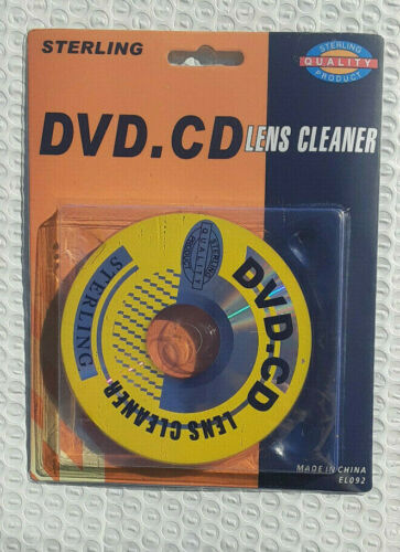 Sterling DVD / CD Laser Lens Cleaner