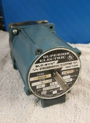 Superior Electric Slo-syn Ss421e Synchronous Stepping Motor