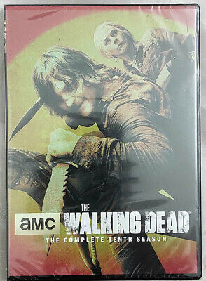 The Walking Dead Season 10 (5-DISC DVD) Free Shipping US Seller