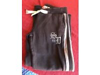 Womens Superdry Joggers Bottoms Track Suit Bottoms, Small