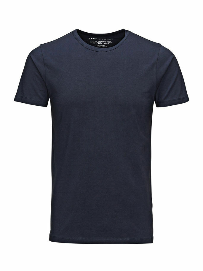 JACK /& JONES Jorricky Tee SS Crew Neck STS T-Shirt Uomo