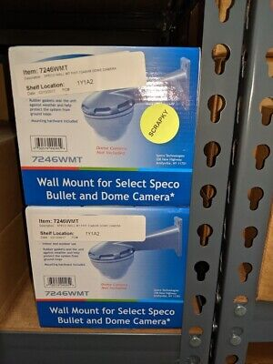 7246wmt Wall Mount Mt Speco Fht-7246ihr Dome Camera New On Hand