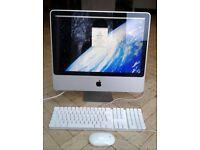 "Apple iMac 20"", 2007 4gb RAM 2ghz Intel Core 2 Duo 250gb HD"