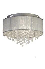 Light Fitting - New 3 light, semi-flush