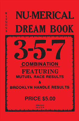 3 5 7 Nu Merical Dream Book   Lottery Book