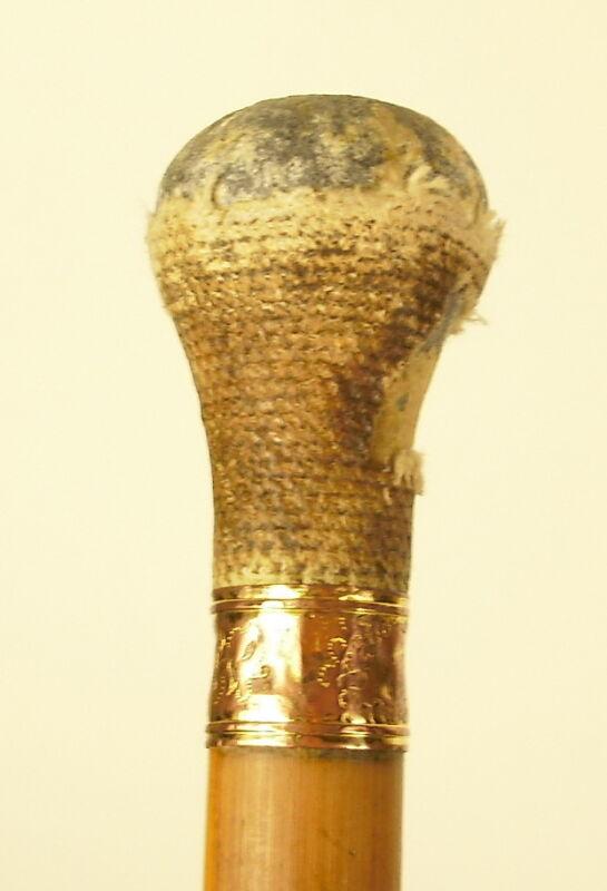 Cane Antique Pommel IN Whtvap Cane LED Pommel