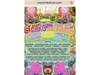 Moovin Festival Tickets - Saturday 26th August,