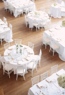 SPECIAL : Wedding decor and event hire chair and table hire MELBOURNE