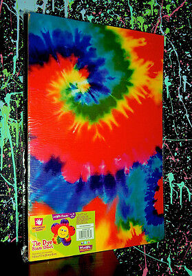 TIE DYE FOAM SHEET PACK (3 Sheets) psychedelic hippie art craft material (Creative Hands Foam Sheet)