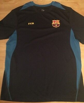 - FCB Barcelona Football Club Short Sleeve Soccer Jersey Size L Mens Large