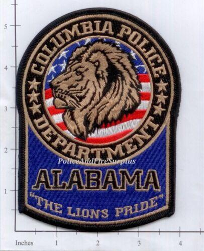 Alabama - Columbia AL Police Dept Patch