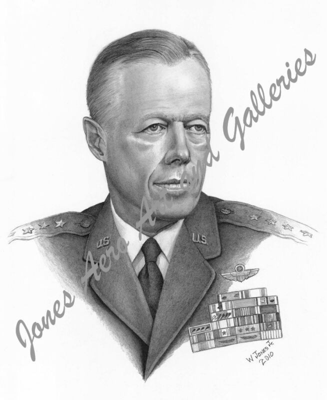 General John C. Meyer Giclee & Iris Open Edition Art Prints by Willie Jones Jr.
