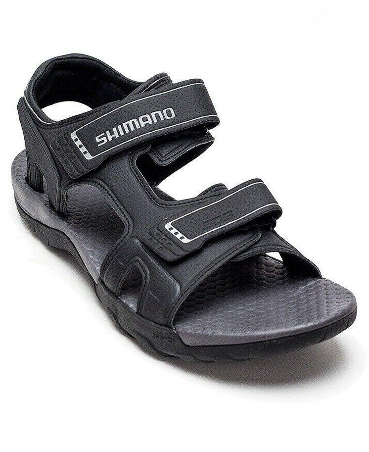 Shimano SH-SD5 Men's Bicycle Shoes Grey Dual Strap Cycling B