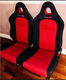 Honda Civic Type R Front seats, one pair