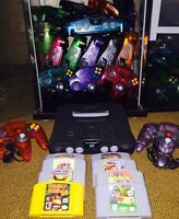 Looking for a Nintendo 64 Bundle, games, controllers