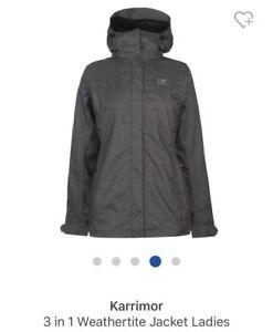 18000599cc4a Karrimor 3 in 1 weathertite jacket ladies