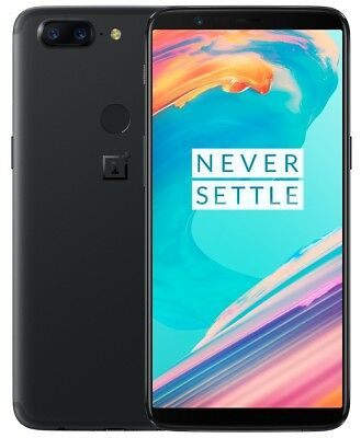 "OnePlus 5T 128GB Midnight Black A5010 (FACTORY UNLOCKED) 6.0"" 16MP 8GB RAM segunda mano  Embacar hacia Argentina"