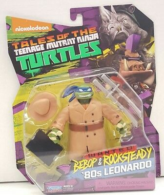 Tales of the Teenage Mutant Ninja Turtles 80's Leonardo TMNT Wanted 2017 Gift