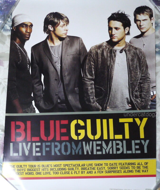 BLUE GUILTY-LIVE FROM WEMBLEY 2004 Taiwan Promo Poster