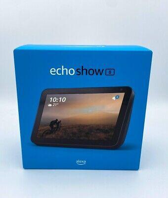 Amazon Echo Show 8 Smarter Lautsprecher / Bildschirm HD Alexa Anthrazit NEU...